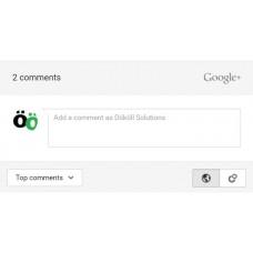 GooglePlus Integration HTML5